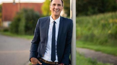 Christoph Schmid tritt als einziger Kandidat in Alerheim für das Amt des Bürgermeisters an. Er möchte seine dritte Amtszeit beginnen.