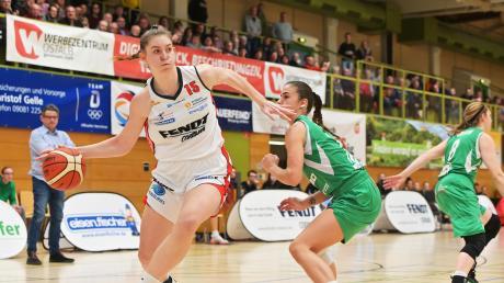 War die Partie gegen Göttingen das letzte Heimspiel für Angels-Centerin Luisa Geiselsöder?