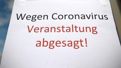 Im Zeichen der Corona-Krise werden immer mehr Veranstaltungen abgesagt (Symbolbild).