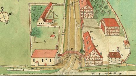 Das Siechenhaus vor den Toren der Stadt: Auch in der Vergangenheit wurden die Bürger Nördlingens immer wieder von Seuchen, Pandemien und Kriegen heimgesucht.