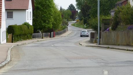 Die Reimlinger Hauptstraße wird saniert.