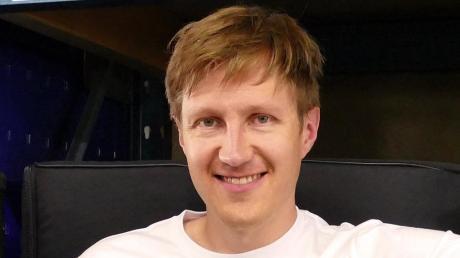 """Der Wechinger Florian Hager alias """"DJ Haggis"""" legt am Samstag im Radio auf."""