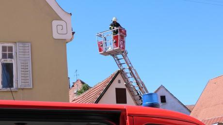 Ein Feuerwehreinsatz in Nördlingen ging glimpflich aus.