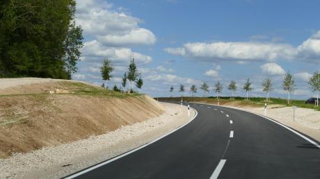 Gerade hier am Lerchenberg konnten die Sicht und die Linienführung wesentlich verbessert werden.