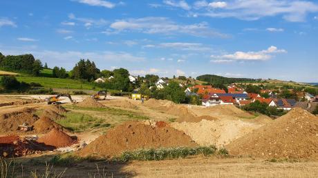 Das neue Baugebiet umfasst 19 Bauplätze, ab Dezember oder Januar sollen sie verkauft werden.
