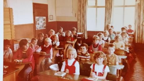 Die letzten beiden Klassen in Munningen sind 1971/72 eingeschult worden.