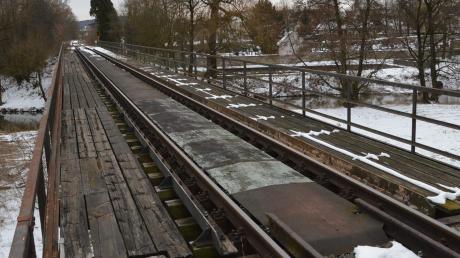 Tourismus-Experten sprechen sich für eine Reaktivierung der Bahnlinie Nördlingen – Dombühl (hier ein Winterbild bei Wilburgstetten) aus.