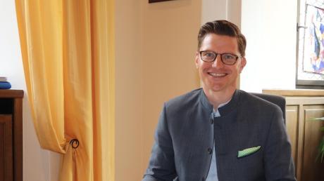 Oberbürgermeister David Wittner (PWG) will die Kinderbetreuung in Nördlingen verbessern.