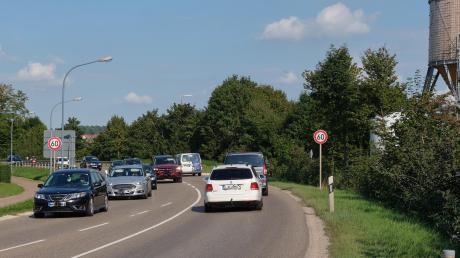 Auf der Bundesstraße 466, der Ostumgehung von Oettingen, soll die Geschwindigkeitsbegrenzung niedriger bleiben.