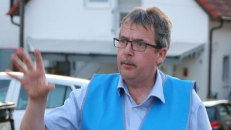 Koordinator des Protests: Bürgermeister Klaus Engelhardt.