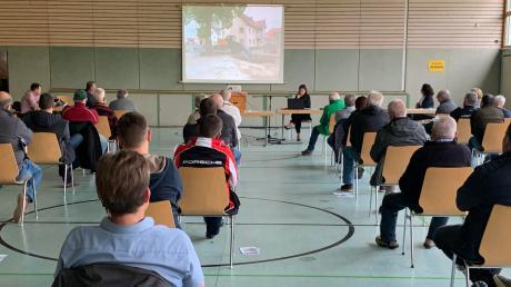 Ederheims Bürgermeisterin Petra Eisele informierte die Gemeindebürger am vergangenen Wochenende an zwei Terminen über die Projekte ihrer ersten Amtsperiode.