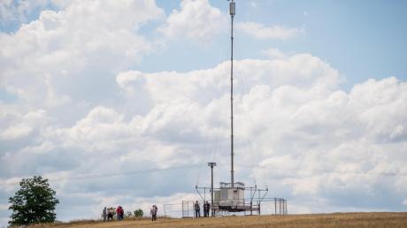 Vodafone ist nach eigenen Aussagen dazu bereit, in Munningen einen mobilen Funkmasten aufzustellen.