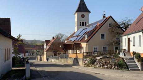 Die Bollstädter Straße in Aufhausen wird ausgebaut. Dafür muss die Gemeinde viel Geld in die Hand nehmen.