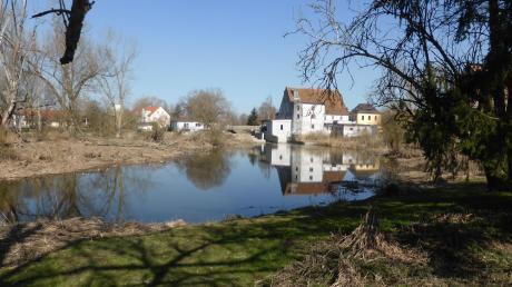 """Neben dem ehemaligen Kloster soll ein künftiger """"Wörnitzpark"""" die historische Substanz um die Mühle, den Pfarrgarten mit """"Predigthäuschen"""" sowie die ortsnahe Auenlandschaft aufwerten."""