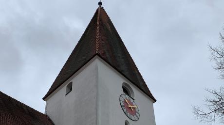 Die Kirche St. Peter & Paul in Ebermergen. Für das genaue Baudatum gibt es keine konkreten Nachweise.