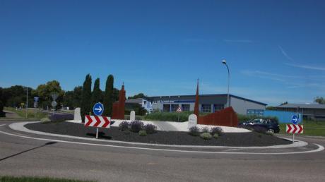 Der Kreisverkehr in Fessenheim war Thema in der Gemeinderatssitzung in Wechingen.