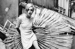 Twiggy gab den Swinging Sixties ein Gesicht (Archivbild von 1969). Foto: dpa
