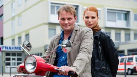 Lisa Marx (Elisabeth Brück) und Jens Stellbrink (Devid Striesow) ermitteln gemeinsam. Foto: Oliver Dietze dpa
