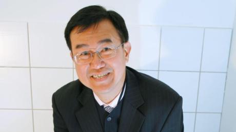 Der Gründer und Vorsitzende der World Toilet Organisation Jack Sim betont die Wichtigkeit von sauberen Toiletten.