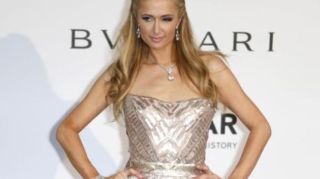 Zeigte sich mal wieder in Europa: Paris Hilton.