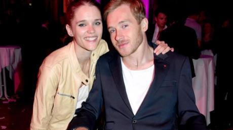 Samuel Koch mit Sarah Elena Timpe 2014 in München. Das Paar wird heiraten.