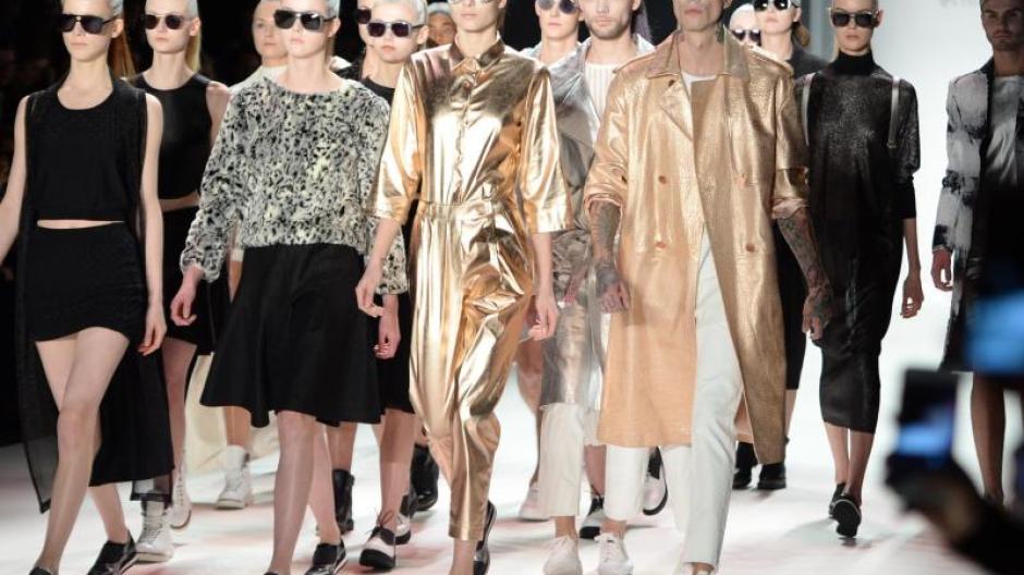 e0a9215e460759 Mode  Fashion Week in Berlin geht zu Ende - Promis