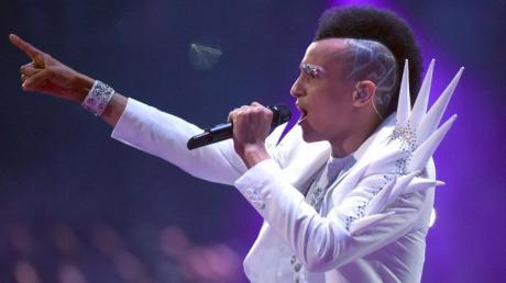Sänger Prince Damien ist der neue «Superstar». Foto: Henning Kaiser