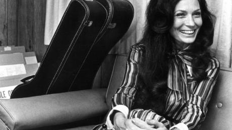 Loretta Lynn (1975) in Nashville, Tennessee.