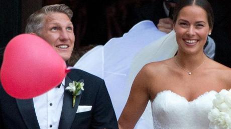 Bastian Schweinsteiger und Ana Ivanovic sollen ihre Flitterwochen auf den Malediven verbracht haben. Foto: Jörg Carstensen