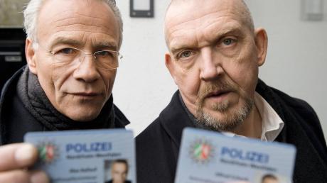 Der Tatort beendet die Sommerpause: Kommissar Max Ballauf (Klaus J. Behrendt, l) und Freddy Schenk (Dietmar Bär, r) starten am Sonntag in die neue Saison.