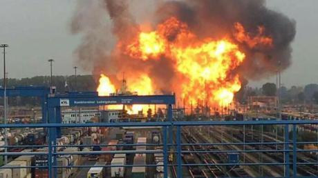 Bei der Explosion im Oktober 2016 starben fünf Menschen.