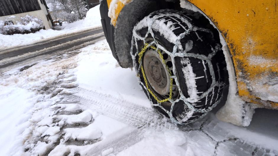 winter: vorne oder hinten - an welche achse gehören schneeketten