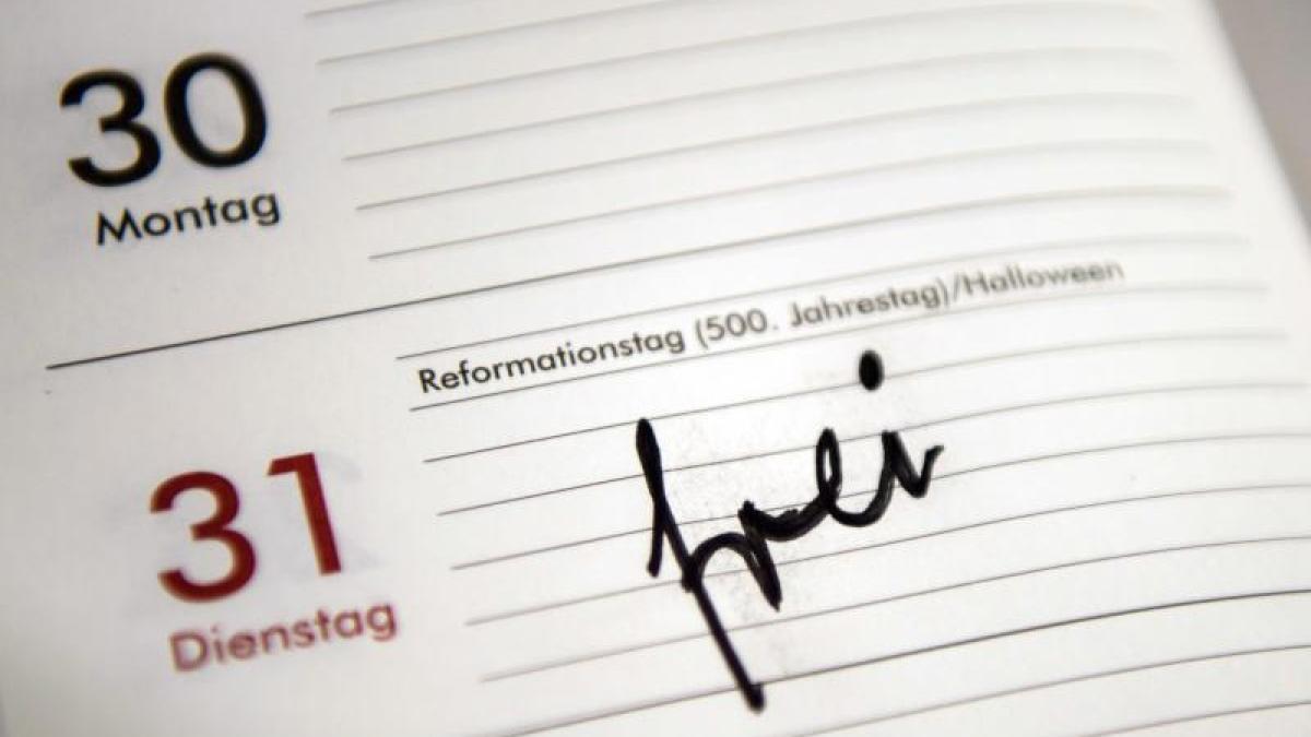 Reformationstag Bundesweiter Feiertag