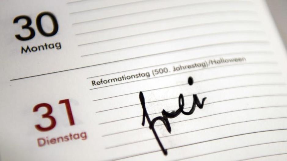 Reformationstag 2018 Gesetzlicher Feiertag