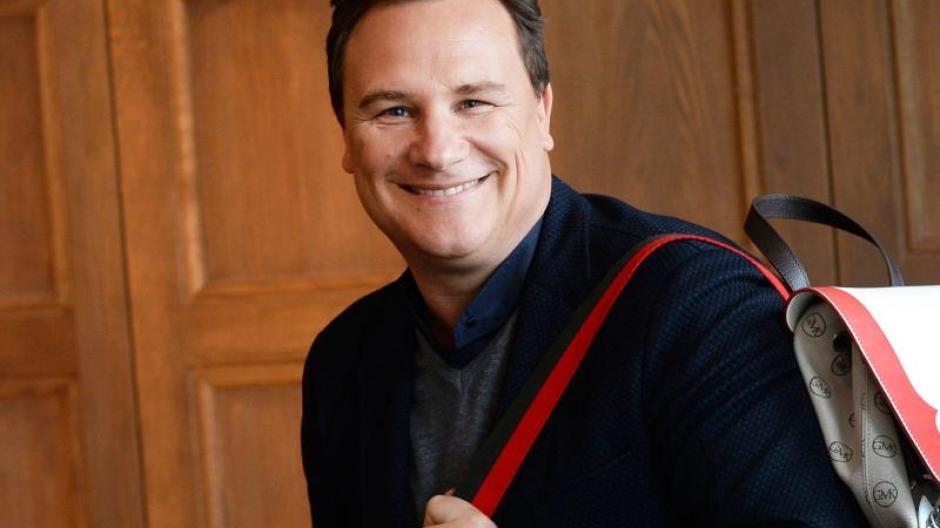 Mann mit Tasche: Guido Maria Kretschmer hat Salz und Pfeffer