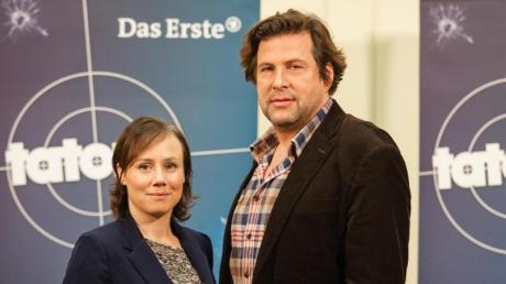 """Die neuen """"Tatort""""-Ermittler aus dem Schwarzwald:Eva Löbau als Kommissarin Franziska Tobler und Hans-Jochen Wagner als Kommissar Friedemann Berg"""