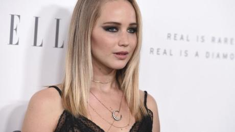 Jennifer Lawrence beim Empfang der «Elle» in Holywood.