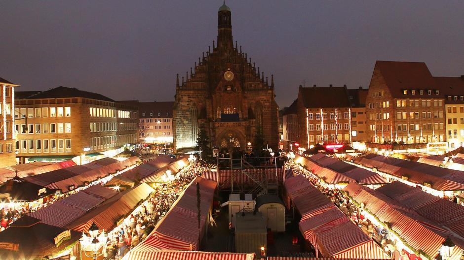Weihnachtsmarkt Nürnberg.Nürnberg Nürnberger Christkindlesmarkt Die Romantische