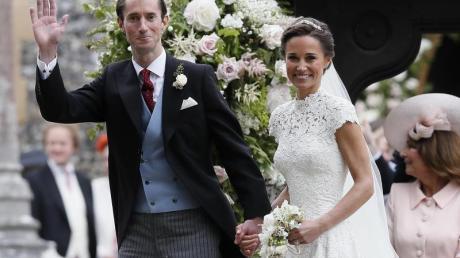 Pippa Middleton und James Matthews feierten DIESociety-Hochzeit des Jahres. Foto: Kirsty Wigglesworth