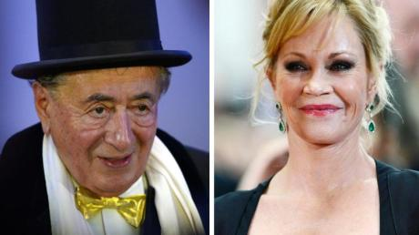 Richard «Mörtel» Lugner und Melanie Griffith gehen zum Opernball. Foto: Bruna/Buck