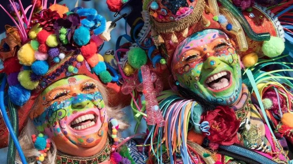 Image result for Nicht überall, aber Karneval hat Tradition