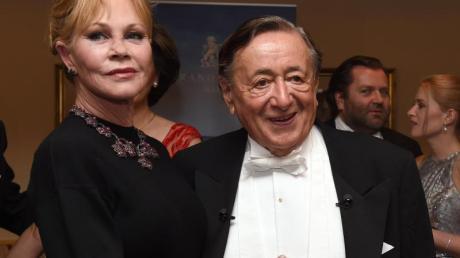 Die US-amerikanische Schauspielerin Melanie Griffith und Richard Lugner. Foto: Herbert P. Oczeret, APA