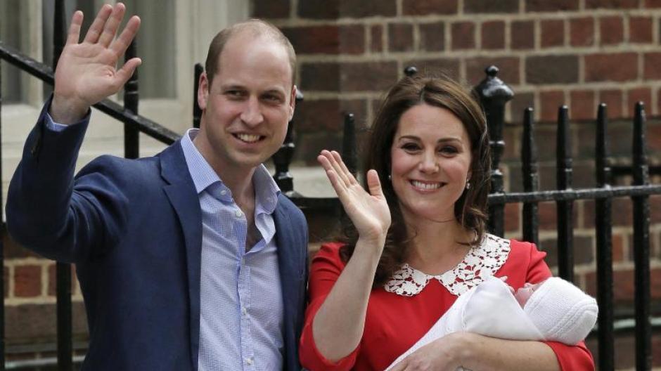 Royal Baby William Und Kate Ihr Sohn Heißt Louis Arthur Charles