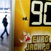 Der Eurojackpot am 6. Juli 2018 wurde geknackt. Gleich zwei Spieler hatten die richtigen Gewinnzahlen. Hier Zahlen und Quoten.Foto: Federico Gambarini