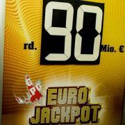 Rund 90 Millionen Euro liegen im Eurojackpot, der gemeinsamen Lotterie von 18 europäischen Ländern. Foto: Federico Gambarini
