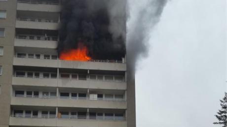 Bei dem Brand ist eine Fünfjährige ums Leben gekommen.