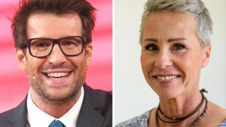 Daniel Hartwich und Sonja Zietlow moderieren die 13. Staffel des RTL-Dschungelcamps. Fotos: Rolf Vennenbernd, Matthias Balk