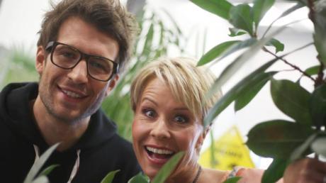 Fungieren wieder als Gastgeber und Kommentatoren im Dschungelcamp: Sonja Zietlow und Daniel Hartwich. Foto: Oliver Berg