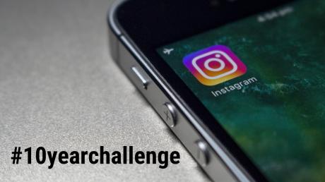 Auf Social Media macht der Hashtag #10yearchallenge die Runde. Egal ob prominent oder nicht - Leute zeigen wie sie vor zehn Jahren aussahen und wie heute.