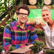 Erneut Gastgeber im Dschungelcamp: Sonja Zietlow und Daniel Hartwich. Foto: Stefan Menne/RTL
